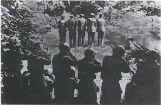 fucilazione militari