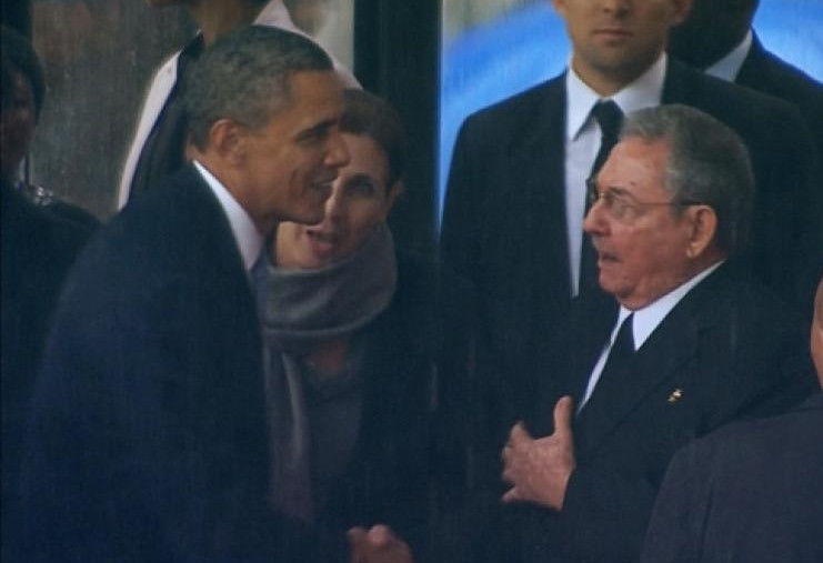 Obama e Castro