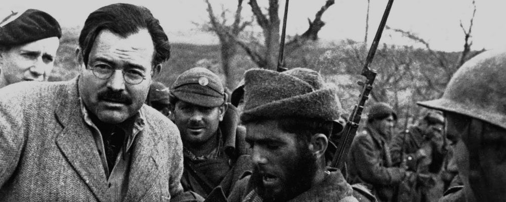 Ernest Hemingway, inviato speciale in Spagna