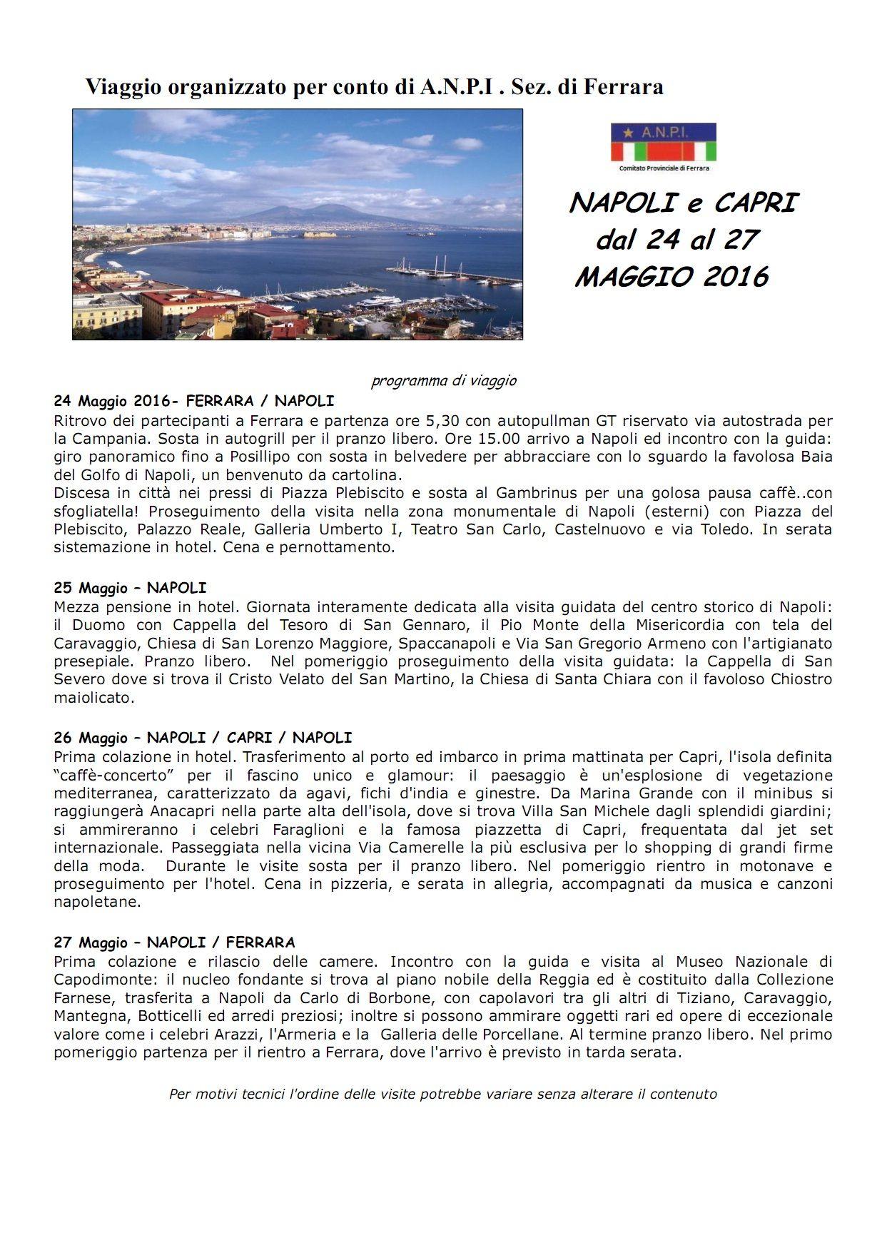 ANPIFerrara_ViaggioNapoli_24-27Maggio2016