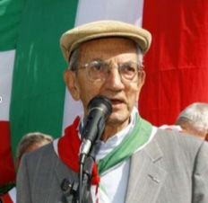 Presidente nazionale ANPI Professor Carlo Smuraglia