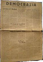 Democrazia giornale del Cln